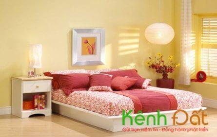 Hướng kê giường ngủ giúp gia chủ phát tài