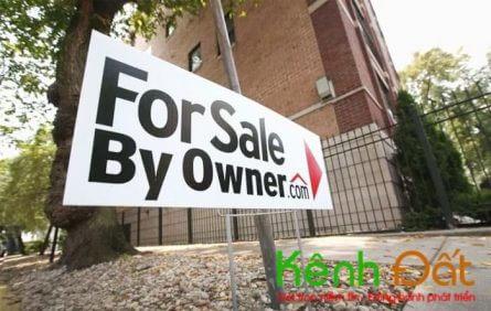 Tự bán nhà có thể sẽ gặp nhiều rủi ro