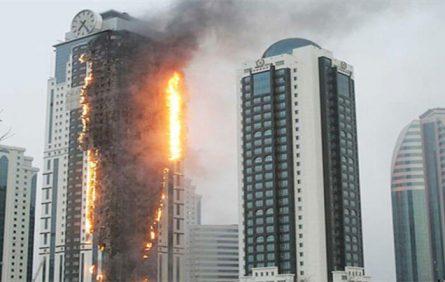 Kỹ năng thoát hiểm khi cháy tòa nhà chung cư cao tầng