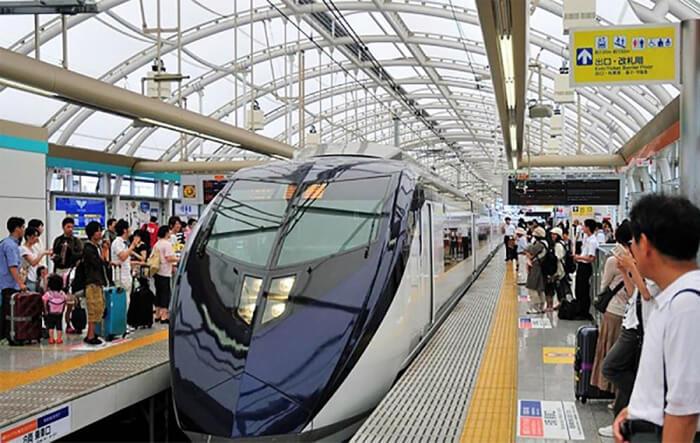 Hệ thống giao thông công cộng hiện đại của Nhật Bản.