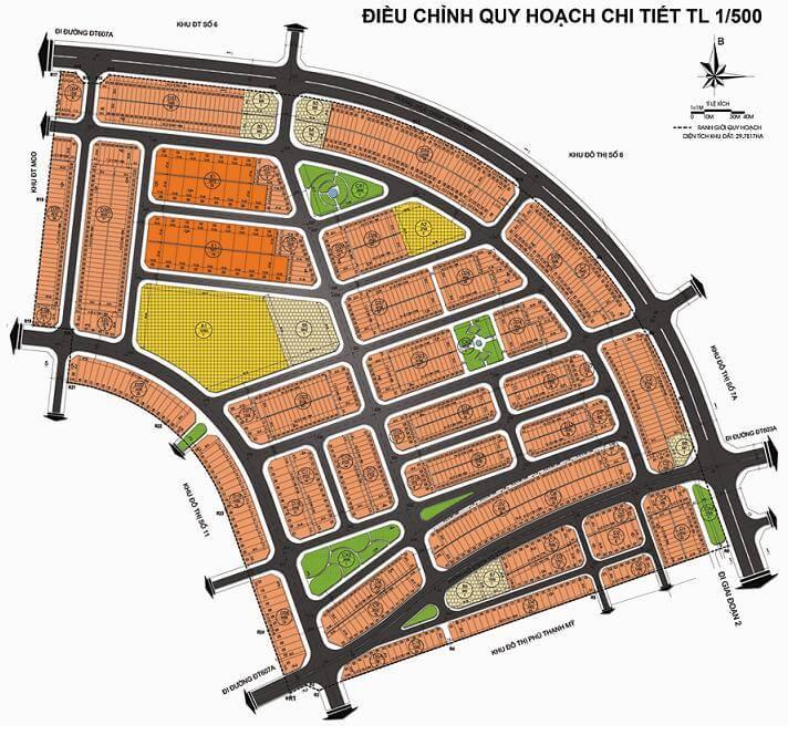 Quy hoạch khu đô thị 7B