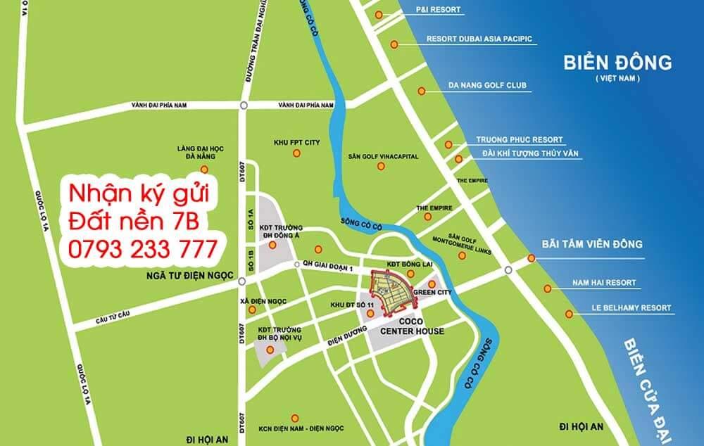 Vị trí Dự án khu đô thị 7B