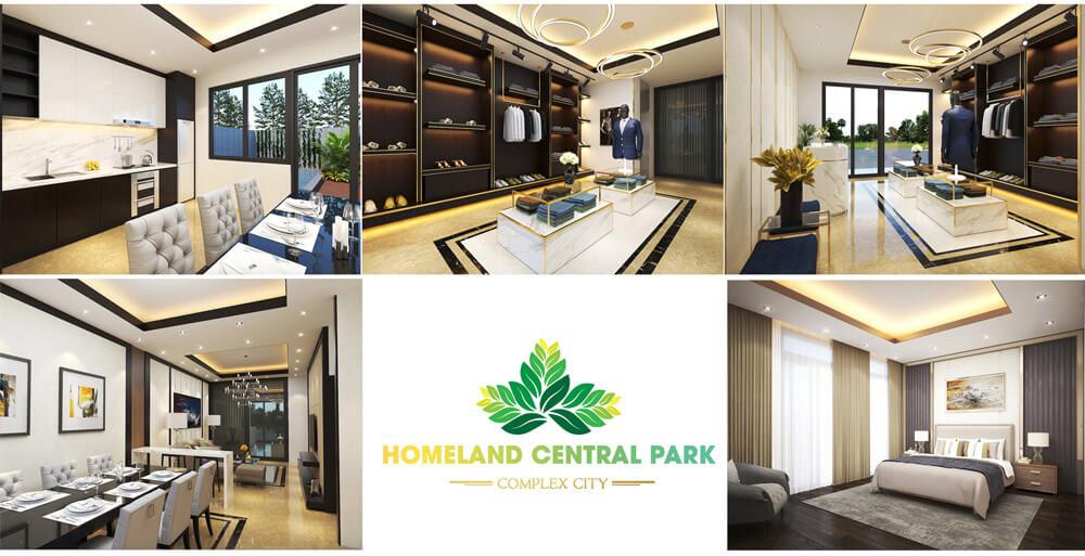 Hinh Anh Shophouse Homeland Central Park
