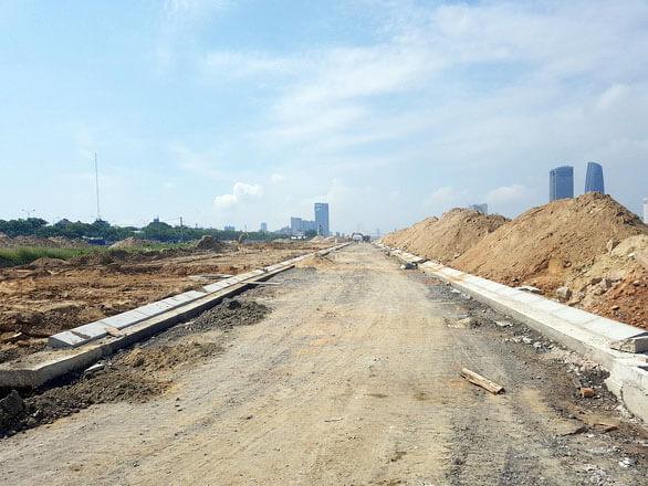 Các chủ đầu tư thống nhất dành lại vệt 20m mặt tiền ven bờ sông Hàn để làm lối đi bộ kết hợp công viên công cộng