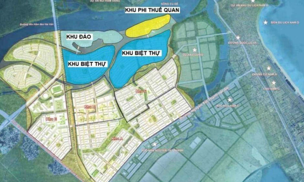 Dự kiến khu vực hình thành Trung tâm Duty Free, Outlet tại Tây Bắc Đà Nẵng
