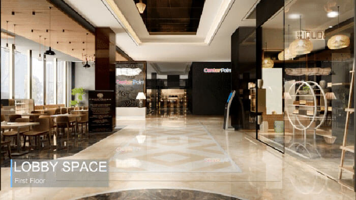 Center Point Da Nang Lobby Space