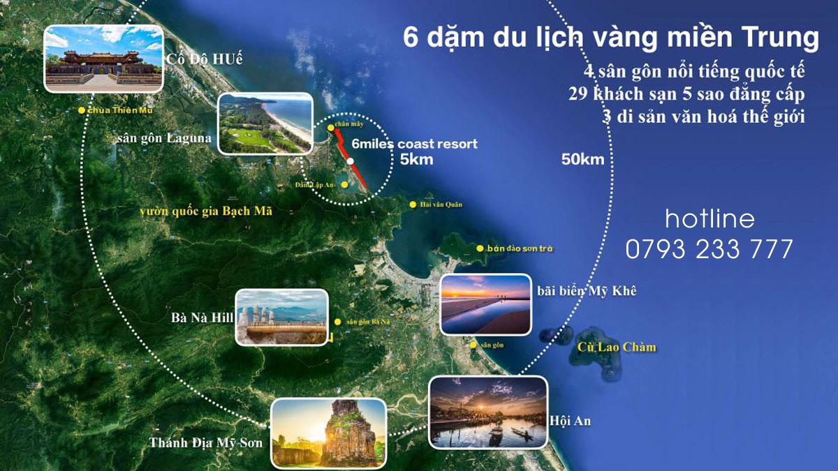 Liên Kết Vùng Six Miles Coast Resort