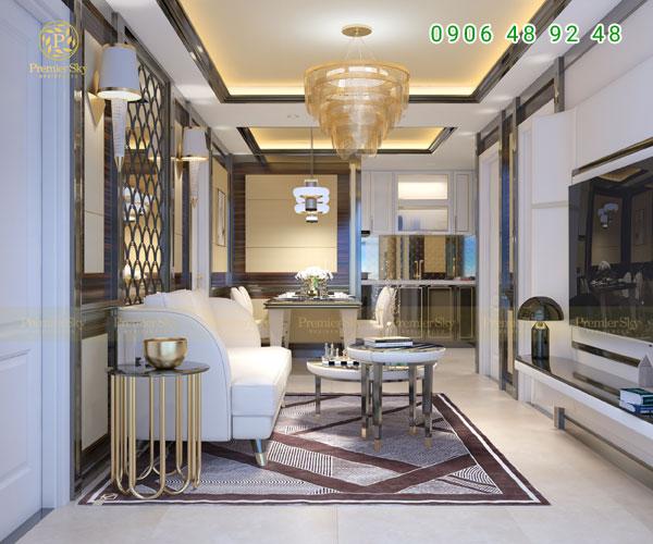 Hình ảnh Nội Thất Căn Hộ Premier Sky Residences