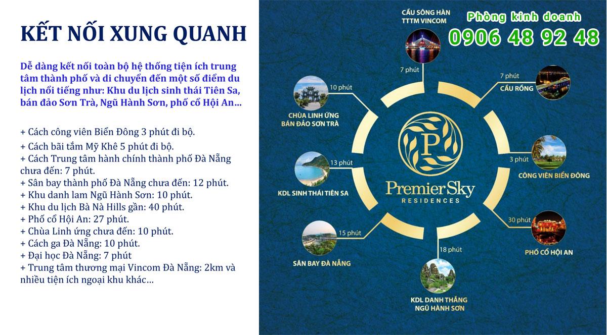 Kết Nối Xung Quanh Premier Sky Residences Đà Nẵng