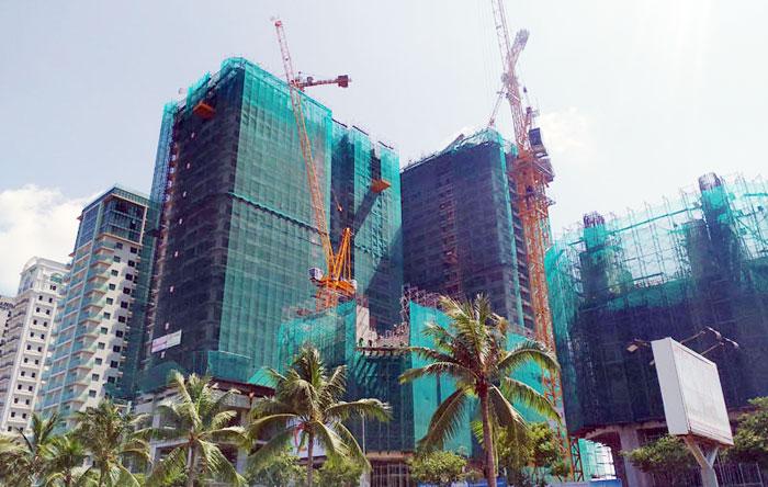 Cất Nóc Dự án Đà Nẵng Times Square Tòa Tháp Ct3