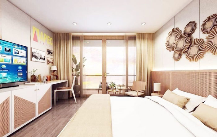 Mẫu thiết kế căn hộ condotel Apec