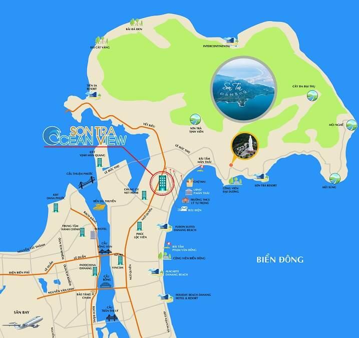 Vị Trí Sơn Trà Ocean View Đà Nẵng