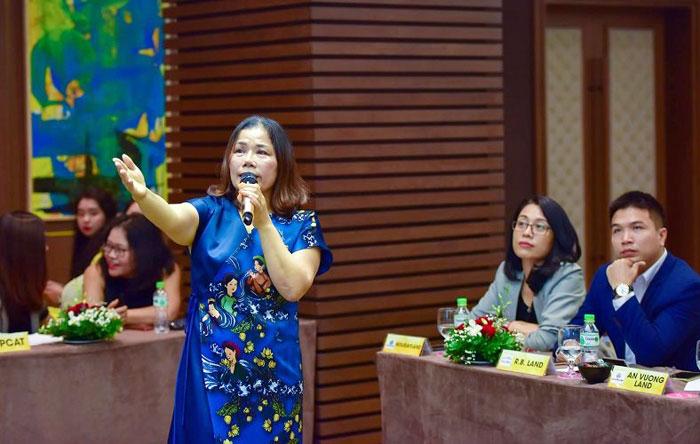 Bà Nguyễn Thị Minh Phượng - Phó Tổng Giám đốc Tập đoàn PPC An Thịnh.