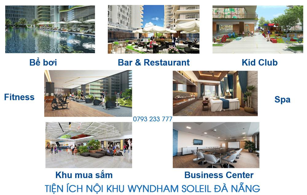 Tện ích nội khu Wyndham Soleil Đà Nẵng