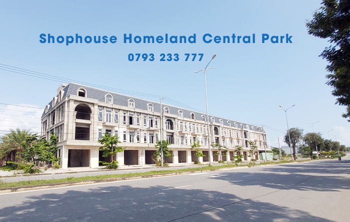 Cap Nhat Tien Do Thi Cong Shophouse Homeland Central Park Thang 11 2019