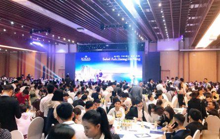 Gần 1.600 khách hàng và chuyên viên tư vấn có mặt tại lễ mở bán Nimbus