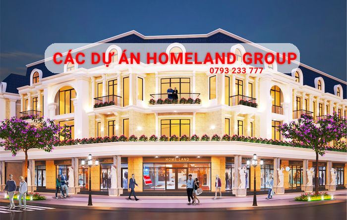 Các dự án Homeland Group