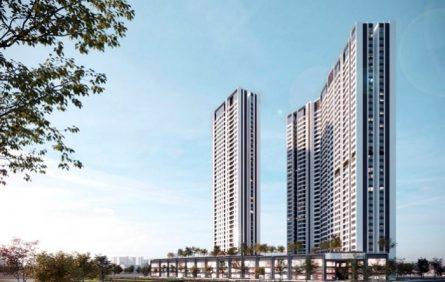 Ảnh phối cảnh dự án Khu chung cư, văn phòng thương mại, nhà ở Tuyên Sơn của Công ty TNHH phát triển nhà Tuyên Sơn được đầu tư 1.987 tỷ đồng