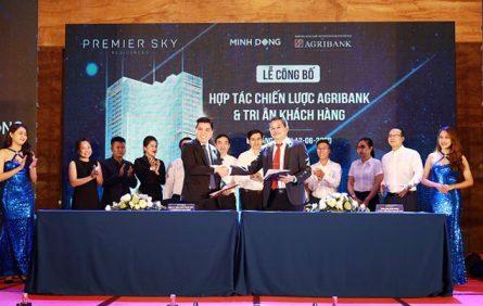 Premier Sky ResLễ ký kết của Agribank chi nhánh TP Đà Nẵng cùng Minh Đôngidences Hop Tac Chien Luoc Cung Ngan Hang Agribank