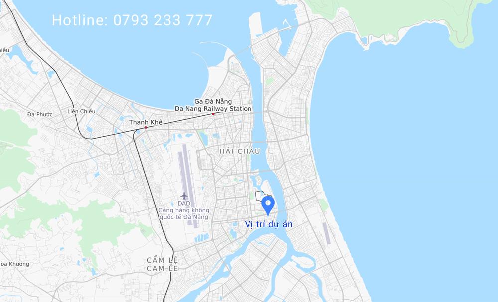 Vị trí The Estuary Đà Nẵng