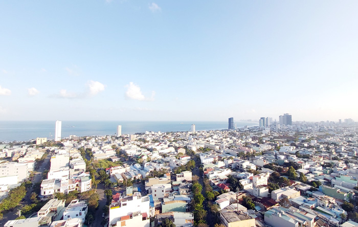 Tầm nhìn view biển nhìn từ Sơn Trà Ocean View