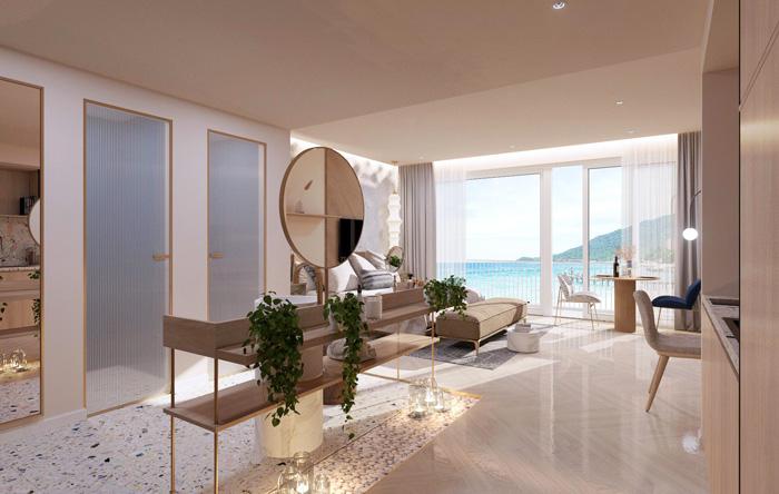 Mẫu căn hộ một phòng ngủ tại Shantira Beach Resort & Spa