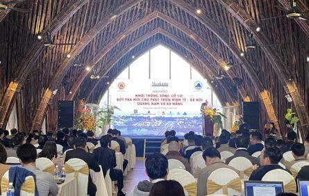 Khơi thông sông Cổ Cò sẽ tạo ra lợi thế đột phát cho Quảng Nam và Đà Nẵng