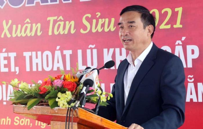 Chủ tịch Đà Nẵng Lê Trung Chinh phát biểu tại lễ ra quân