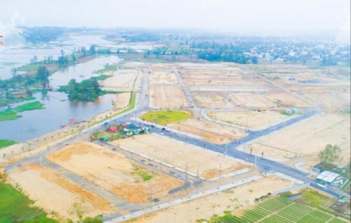 Một dự án phát triển đô thị ven sông Cổ Cò tại Quảng Nam.