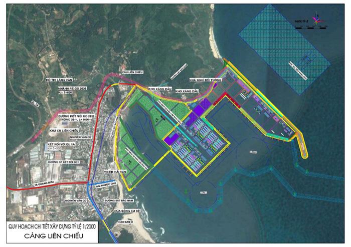 Quy hoạch chi tiết xây dựng cảng Liên Chiểu