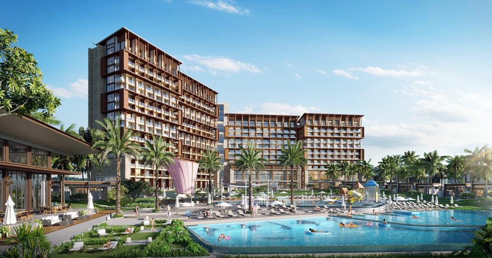 Phối cảnh khách sạn thuộc dự án Le Méridien Đà Nẵng Resort & Spa