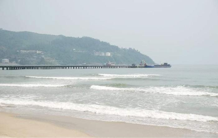 Vị trí dự kiến chọn đặt điểm xây dựng bến cảng Liên Chiểu - Đà Nẵng