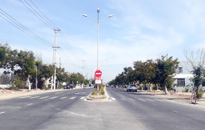 Đường ven biển ĐT 603B nối liền Đà Nẵng và Hội An