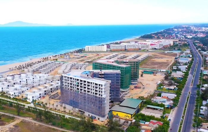 Dự án Shantira Beach Resort & Spa nằm ven biển ven biển Đà Nẵng - Hội An