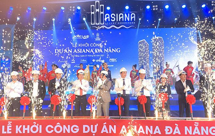 Khoi Cong Asiana Da Nang
