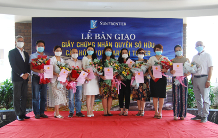 Trao Giay Chung Nhan So Huu Can Ho Hiyori Garden Tower