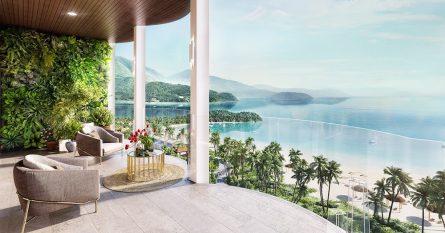 Tầm nhìn hướng biển từ căn hộ Asiana Đà Nẵng.