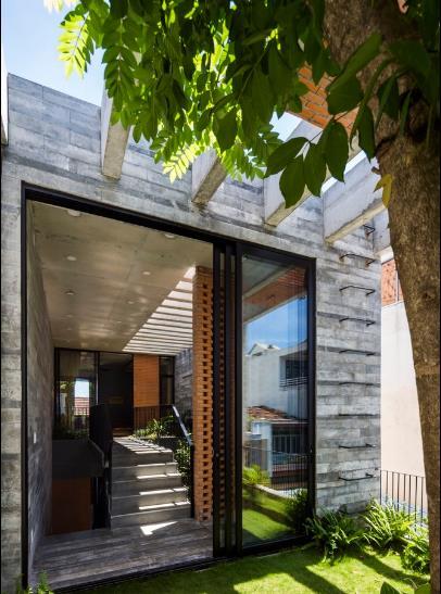 Ngôi nhà đẹp như resort ở Đà Nẵng trên báo Mỹ