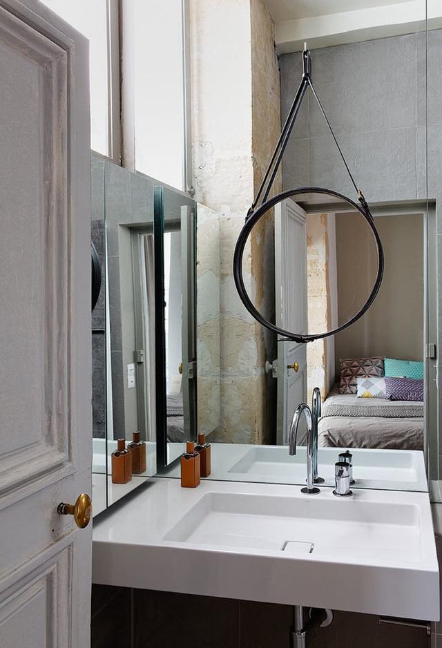 Những ý tưởng giúp phòng tắm nhỏ hẹp trở nên thông thoáng