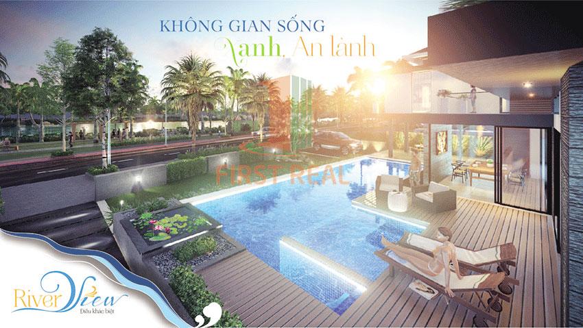 Phối cảnh Khu đô thị River View Quảng Nam