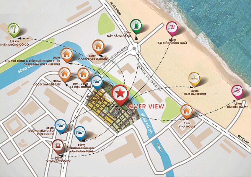 Tiện ích Dự án River View Quảng Nam